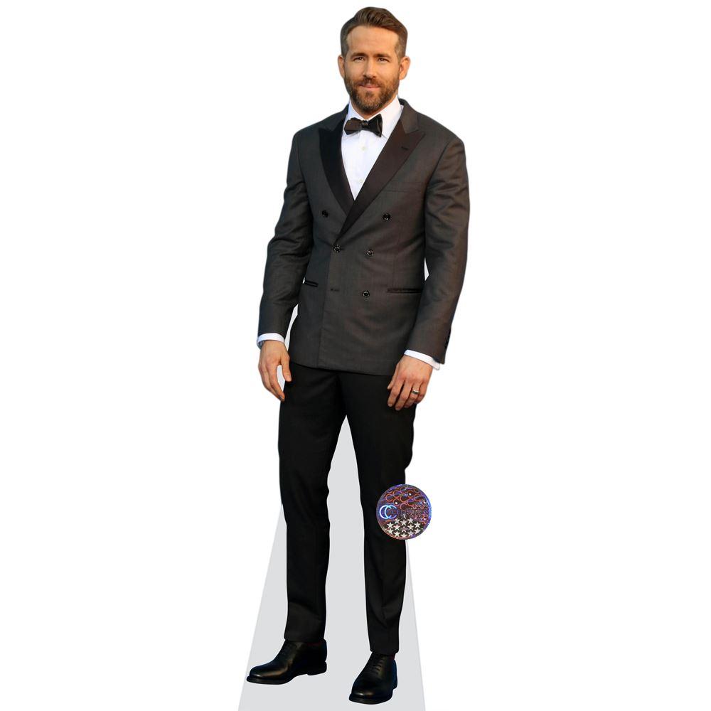 Ryan-Reynolds-Bow-Tie-Figura-de-carton-en-tamano-natural-o-reducido