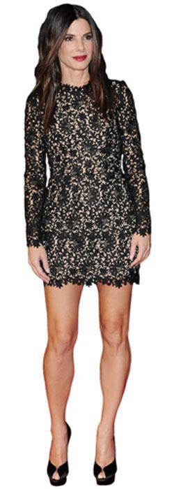 Sandra-Bullock-Short-Dress-Figura-de-carton-en-tamano-natural-o-reducido