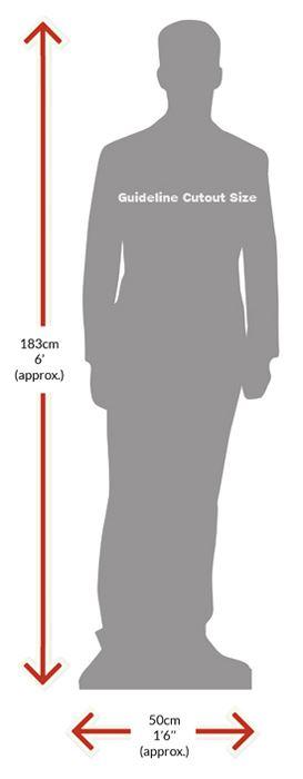 Chris-Geere-Silhouette-carton-grandeur-nature-ou-taille-mini
