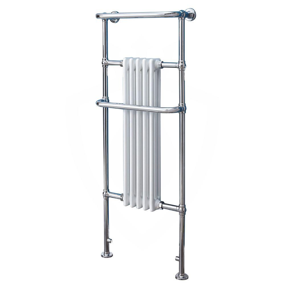 "500mm x 1130mm /""Anne/"" Traditional Bathroom Heated Towel Rail Radiator 3783 BTUs"