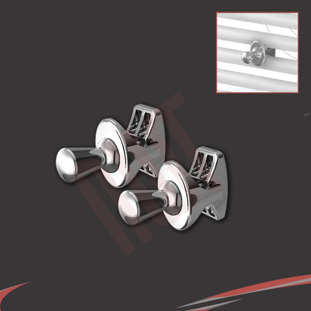 Chrome Amp White Towel Rail Accessories Towel Bars Rings