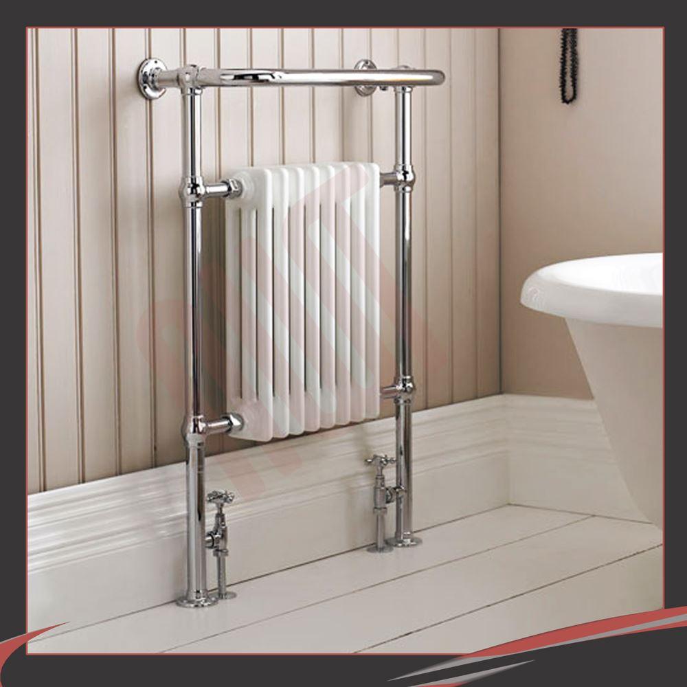 Bathroom Heated Towel Rails Radiators My Web Value - Electric bathroom radiators