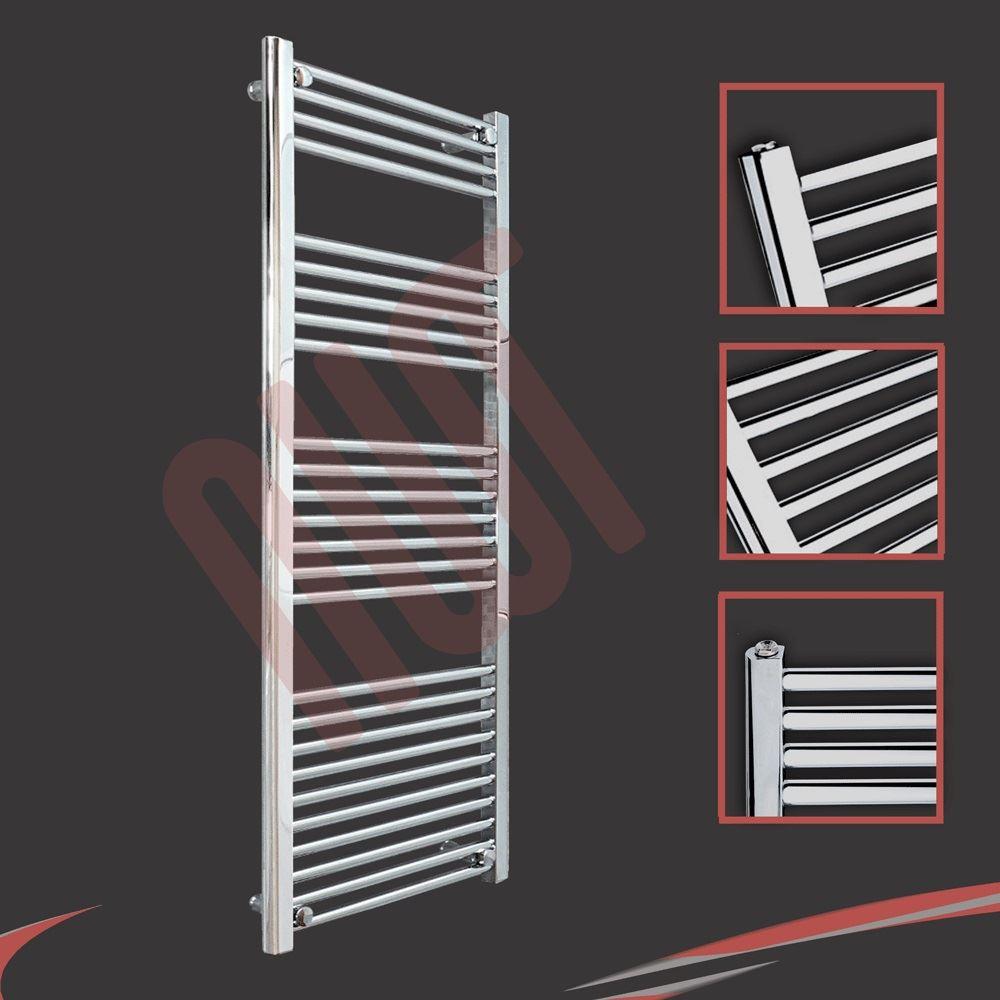 Aura 25 Curved Electric Towel Warmer Chrome White: HUGE SALE Chrome Straight & Curved Heated Towel Rails