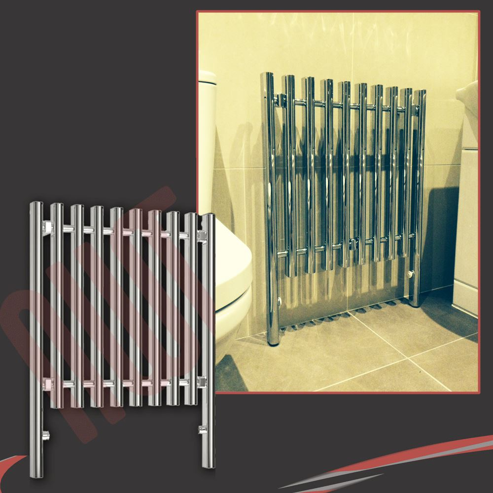 traditional designer chrome heated towel rails bathroom radiators - Designer Heated Towel Rails For Bathrooms