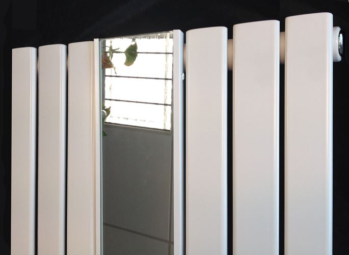 Vertical Designer Mirror Radiators Oval Amp Flat Tube