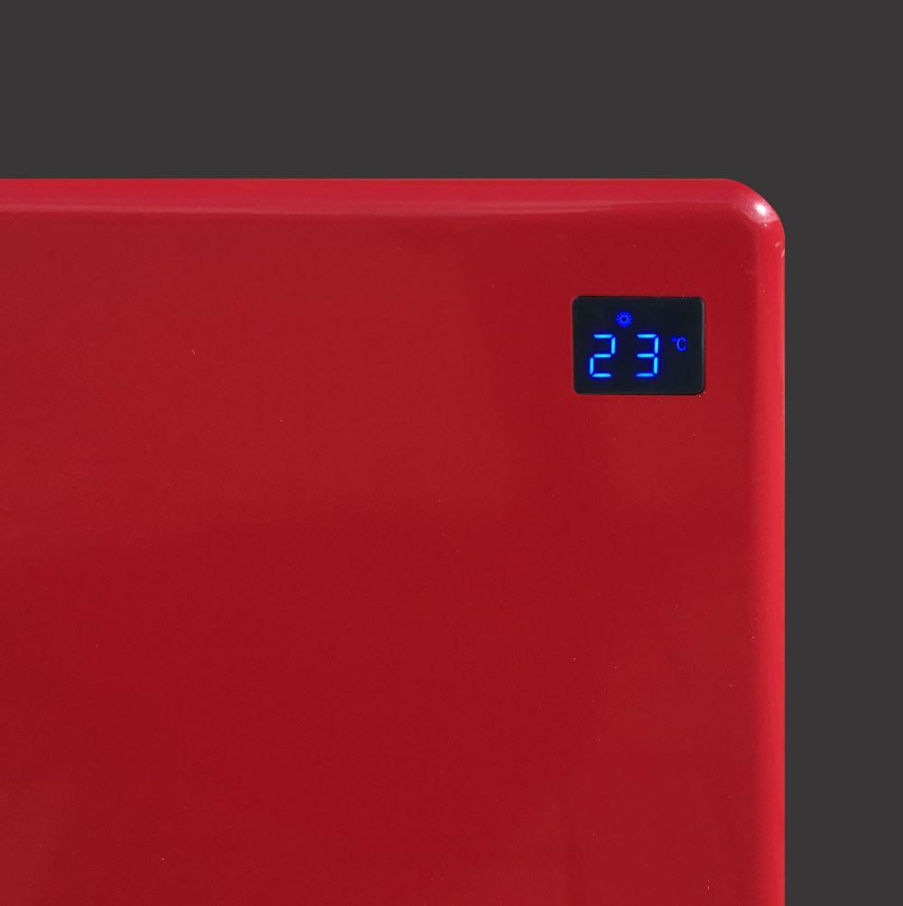 2000w nova live r rosso slimline il pannello radiante for Pannello radiante infrarossi amazon