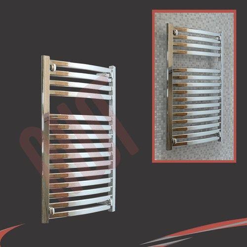 ellipse designer heated chrome black towel rails. Black Bedroom Furniture Sets. Home Design Ideas