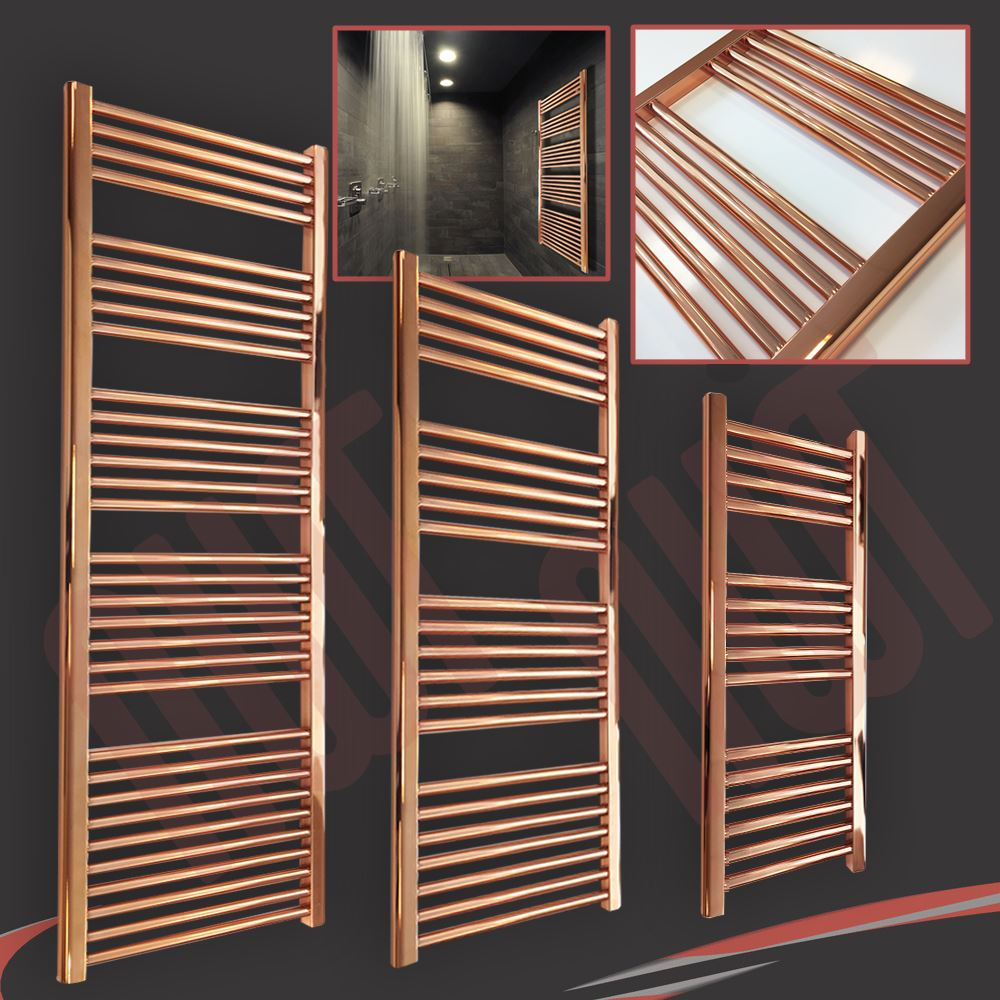 New Stunning Designer Quot Copper Quot Heated Towel Ladder Rails