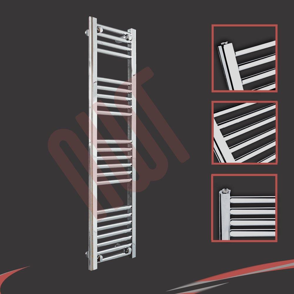 huge range designer heated towel rails chrome bathroom towel warmers radiators ebay. Black Bedroom Furniture Sets. Home Design Ideas