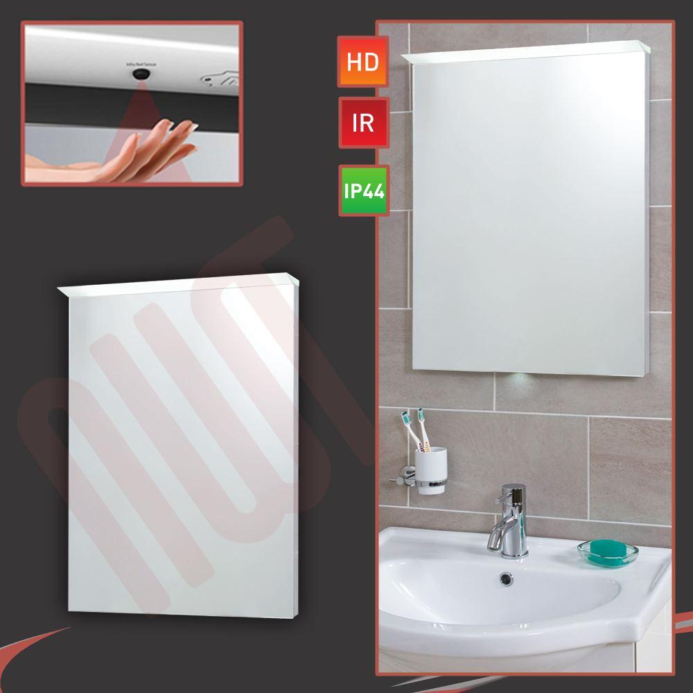 Designer Lip LED Bathroom Mirrors - Infrared Sensor & Heat Demister ...