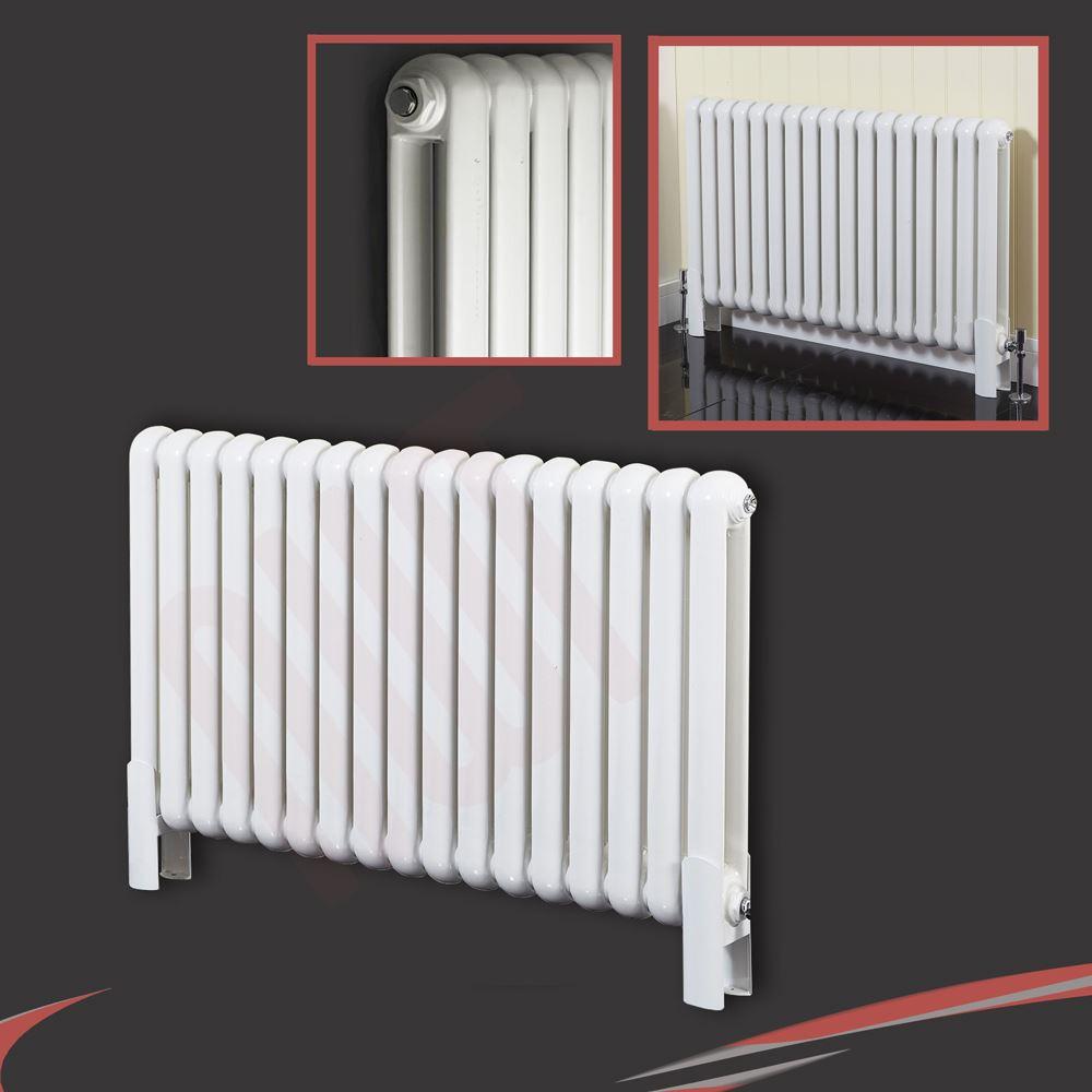 Cheap Flat Panel Column Designer Radiator Central Heating Anthracite Horizontal