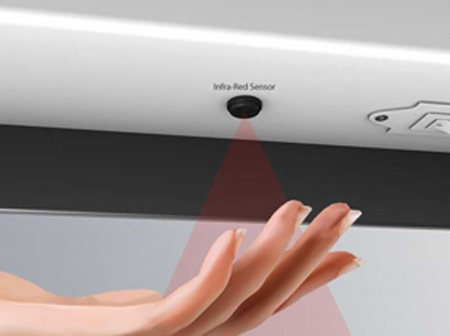 """""""Infinity"""" LED Designer Infra-red Bathroom Mirror"""