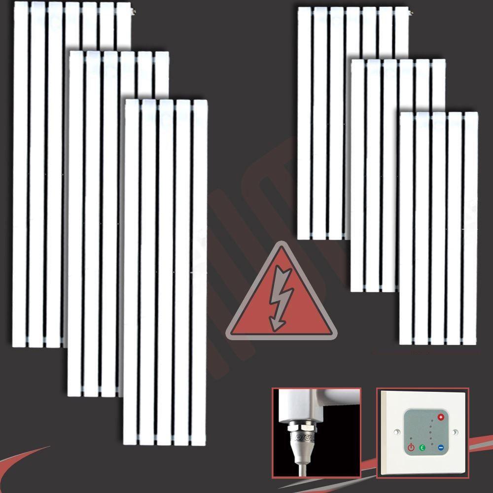Quot Corwen Quot White Electric Pre Filled Vertical Panel