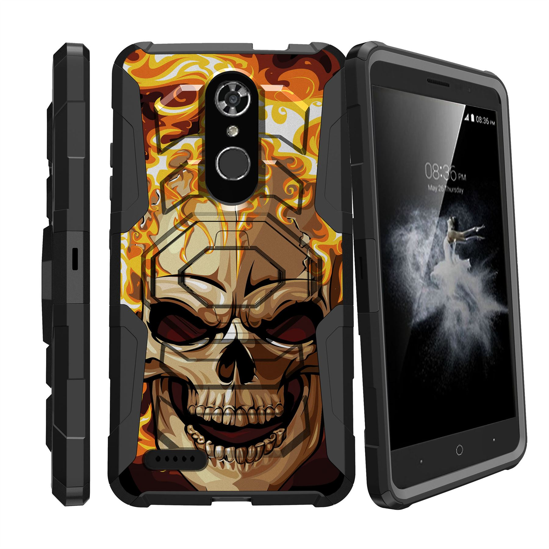 For Zte Max Xl Blade Max 3 Zmax Pro 2 Holster Case