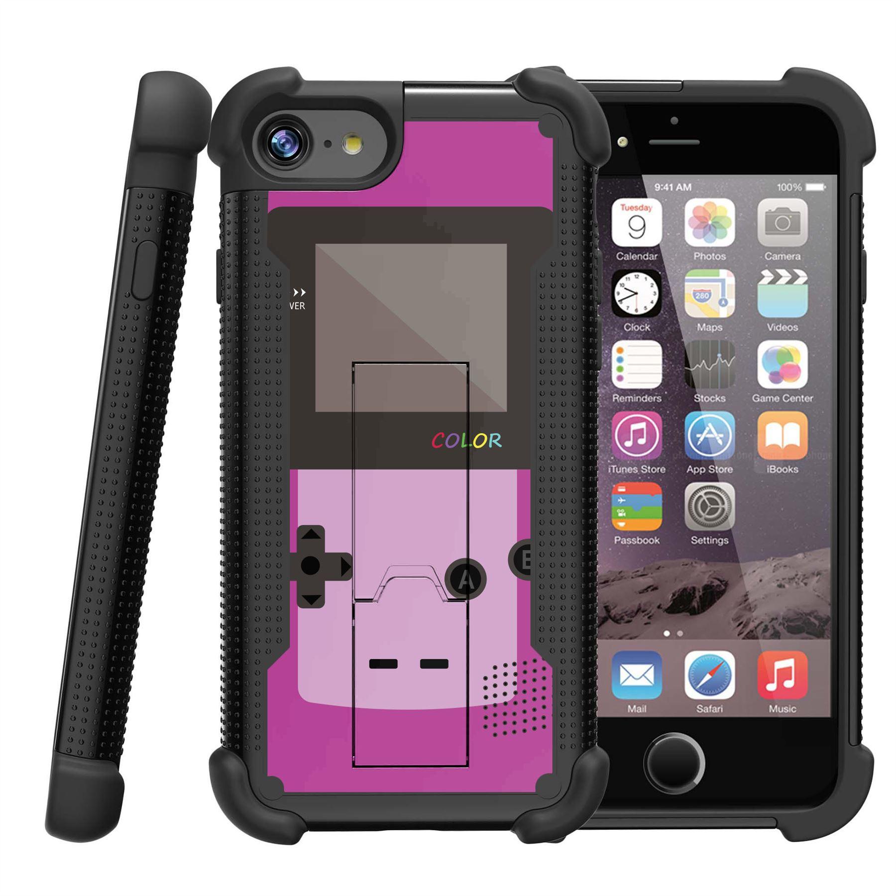 for apple iphone 7 plus 5 5 slim fit hard 2 piece case gaming ebay. Black Bedroom Furniture Sets. Home Design Ideas