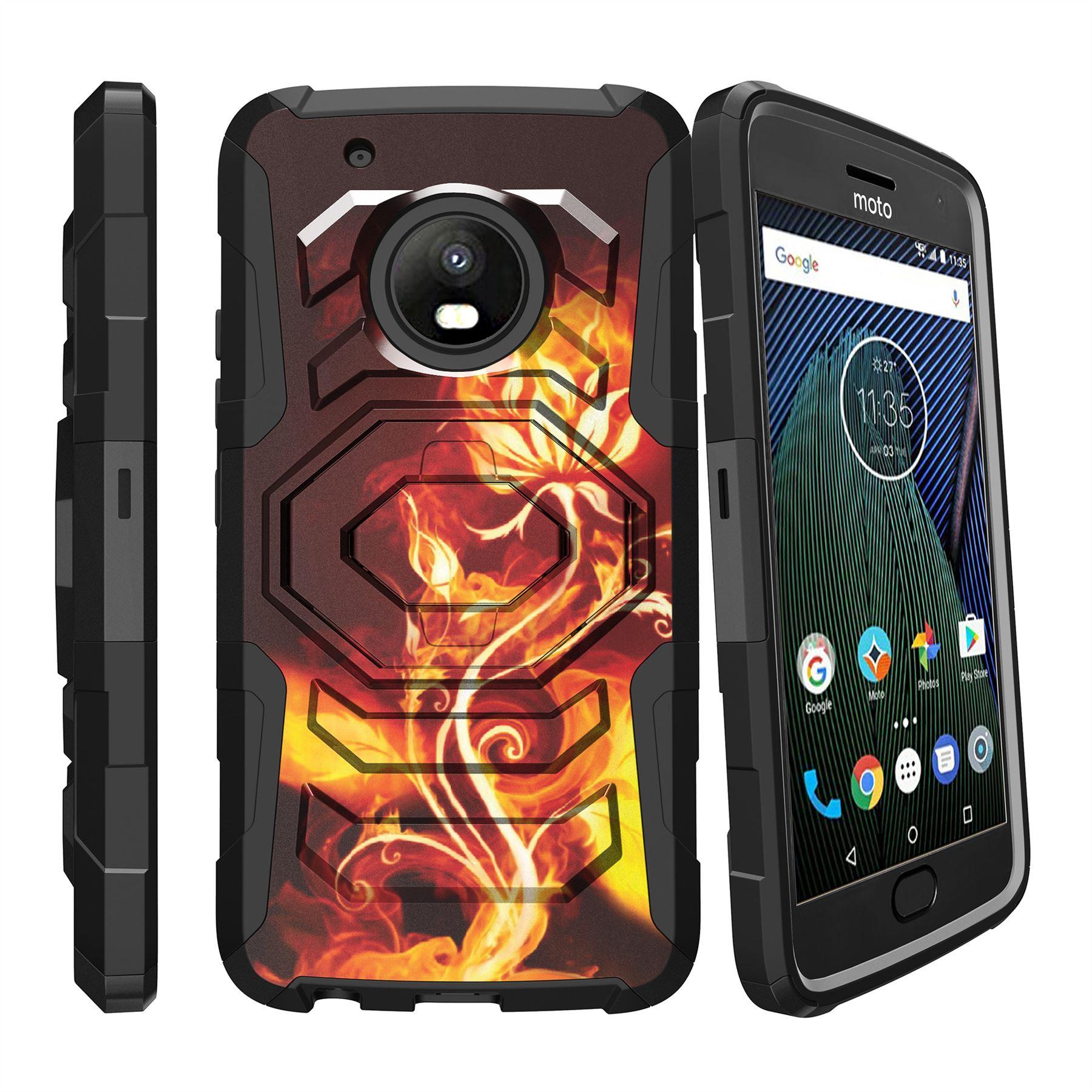 For Motorola Moto G5 Plus | Moto G5 Plus | XT1687 Clip Stand Case Red Hearts | eBay