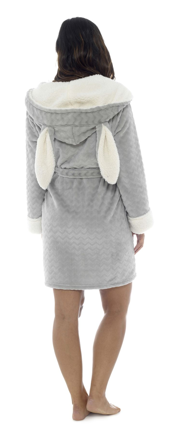 83b95147092b0 Women-039-s-Bunny-Hooded-Robe-Dressing-Gown-