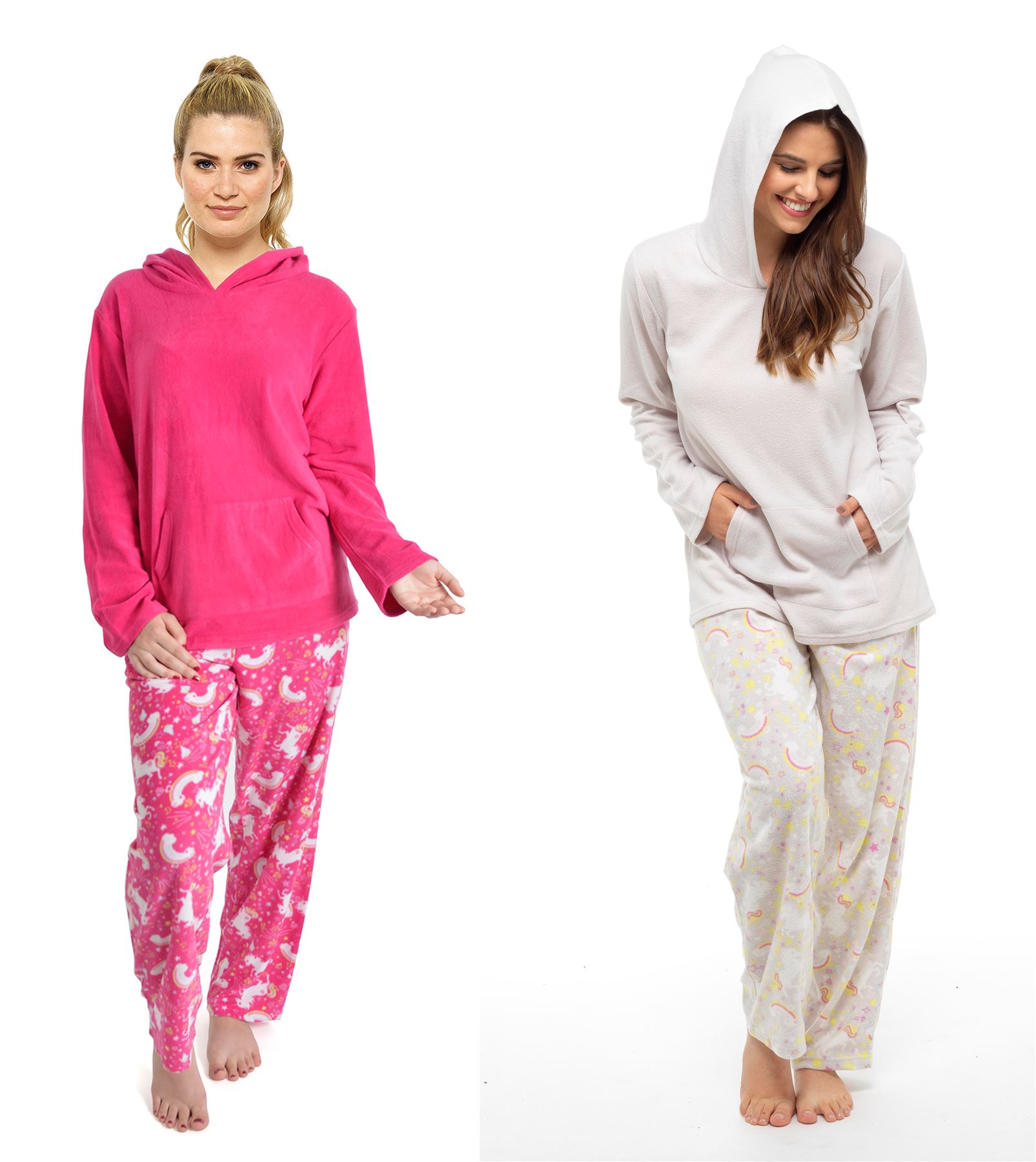 Women s Unicorn Hooded Pyjamas e815942c3