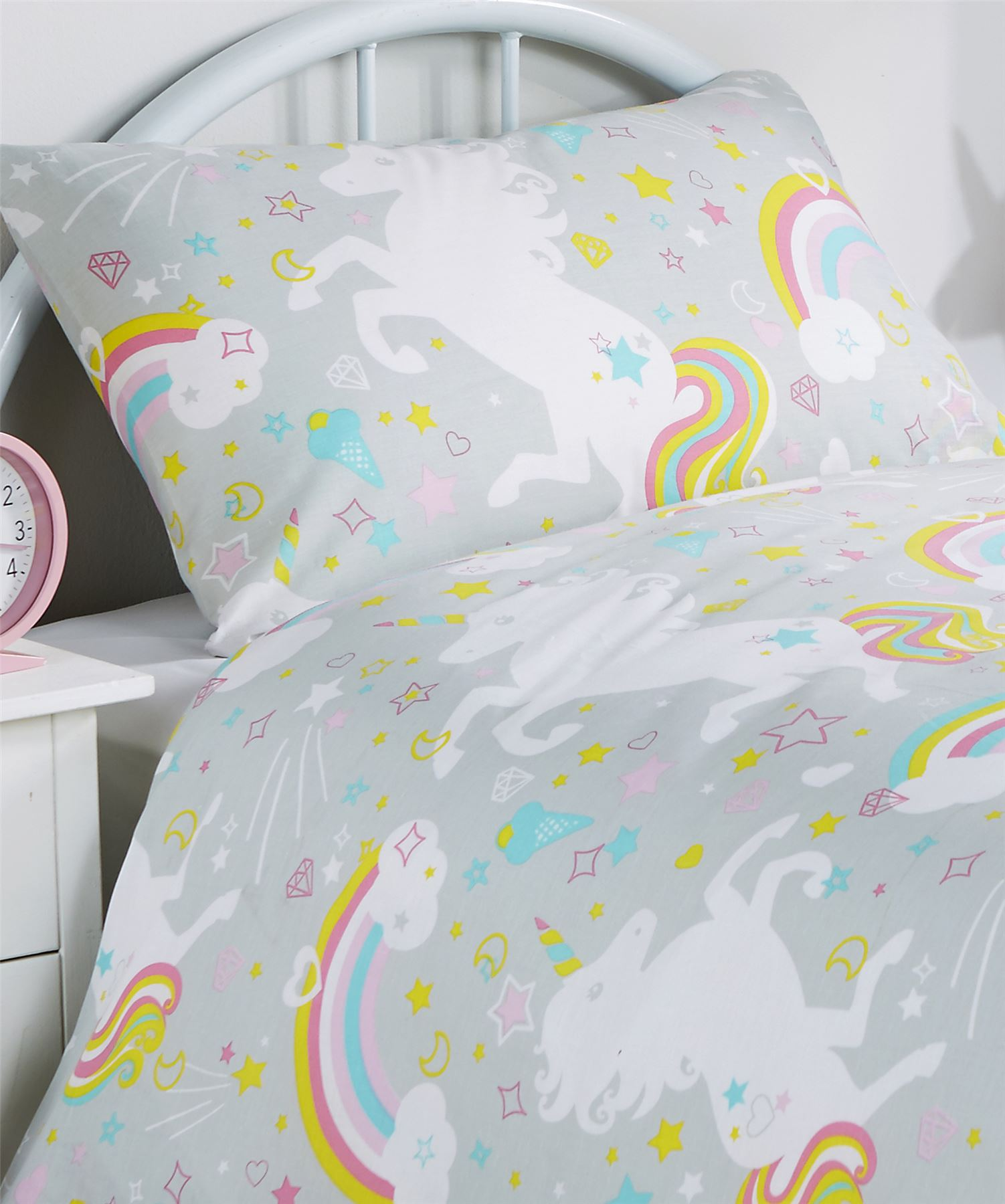 Unicorn Duvet Cover Set Girls Quilt Cover Unicorn Bedding