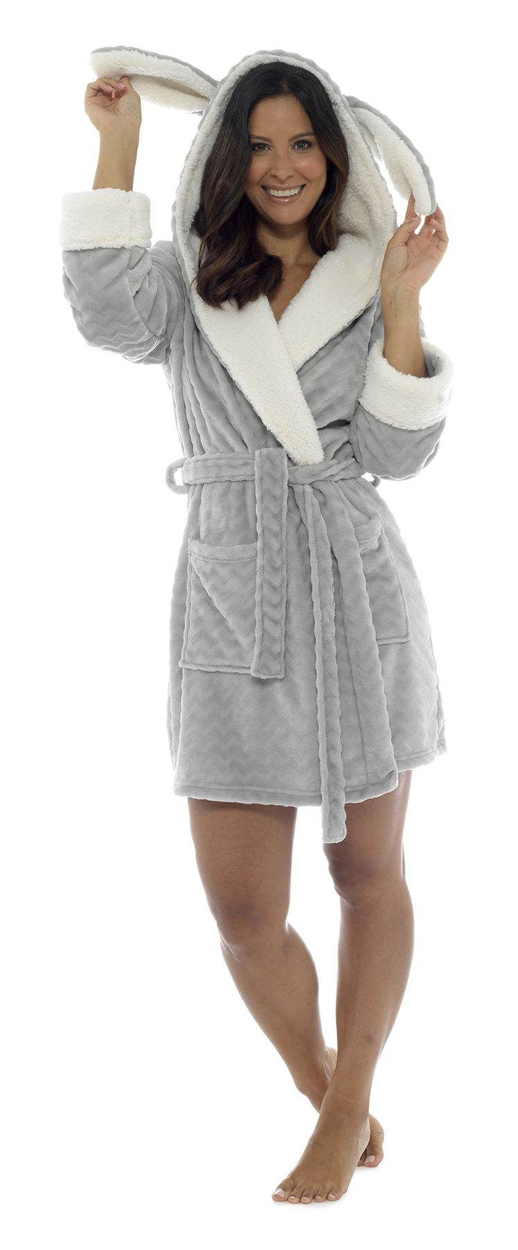 2c8db4e9756af Women-039-s-Hooded-Robe-Dressing-Gown-Super-