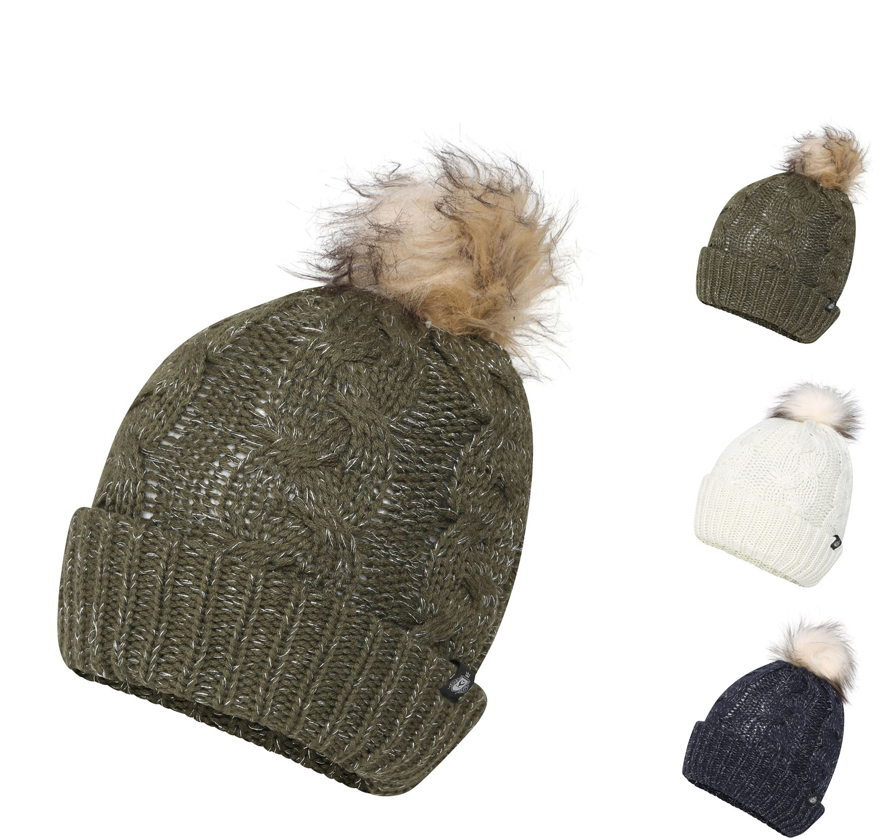 91f0a982a Details about Women's Waterproof Thinsulate Beanie Pom Pom Hat, Thermal  Hats, LA307