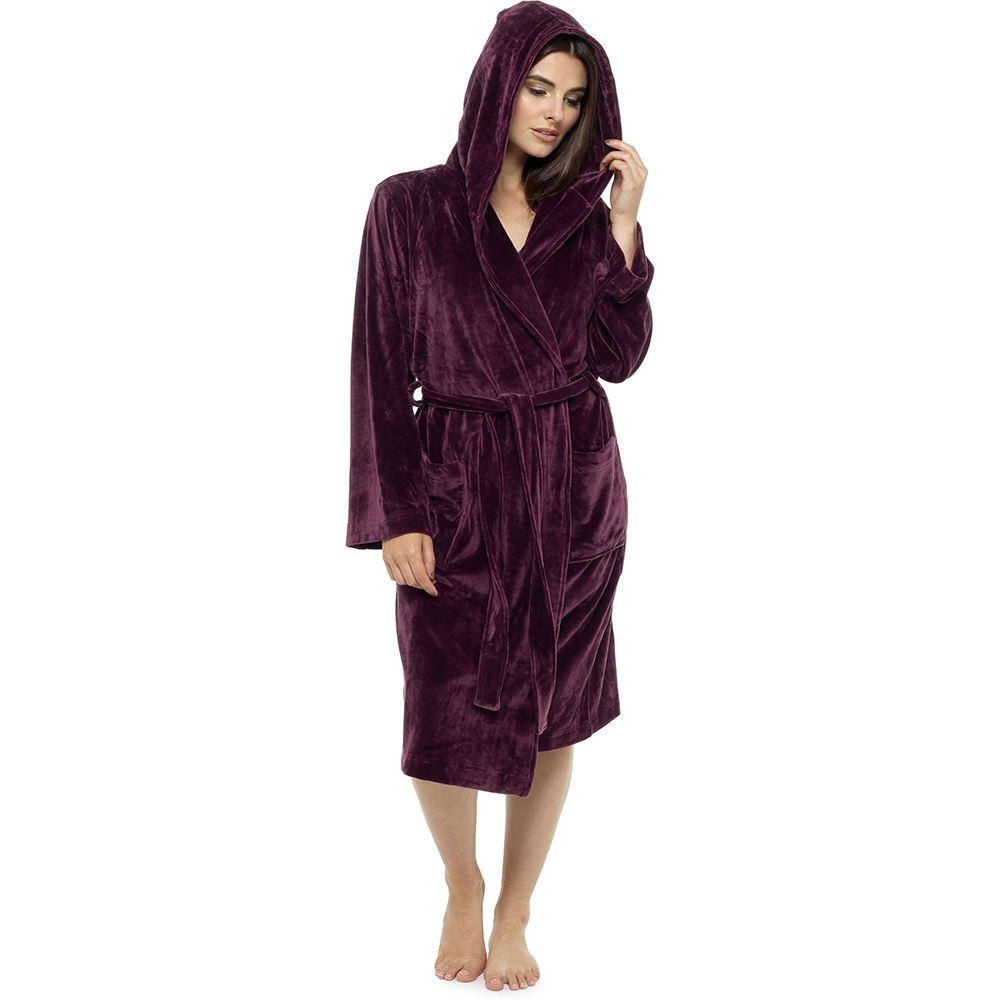 75e858dc9b Women-039-s-Luxury-Soft-Touch-Robe-Plush-