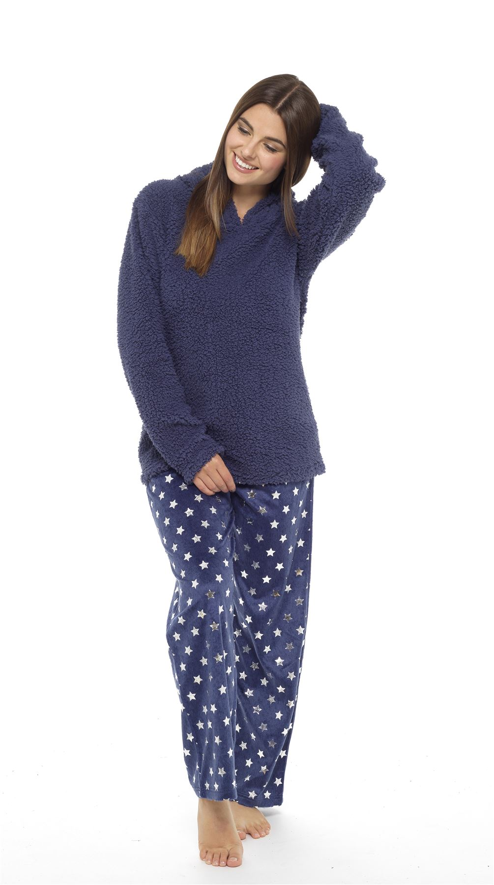 25a042abc94c Women s Bunny   Cat Snuggle Fleece Pyjamas