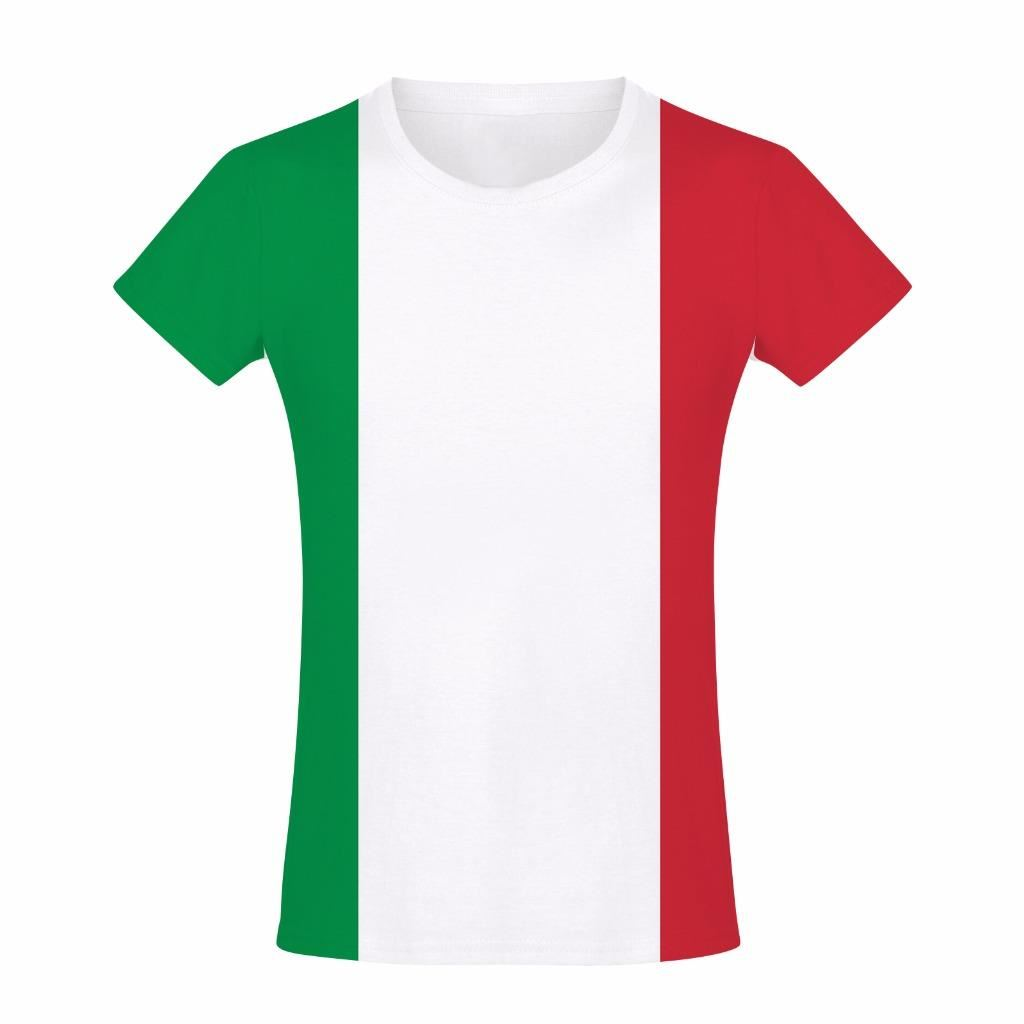 Italy flag italian tricolour patriotic colours summer boys for Shirts made in italy