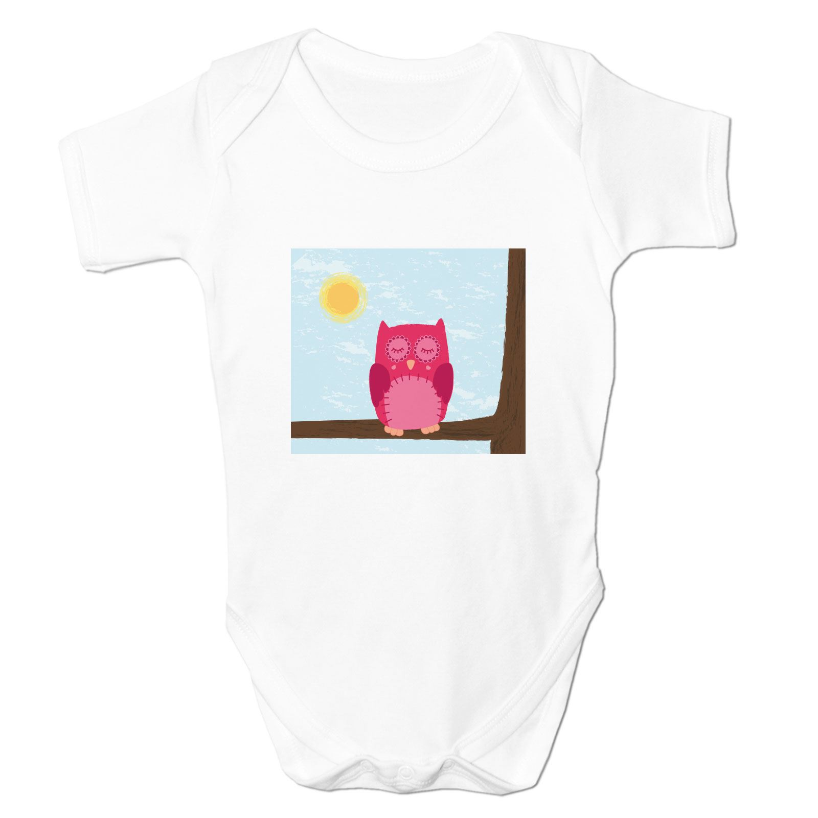 Baby Grow Clothes Novelty Gifts for Babies Boys Sleepy Owl