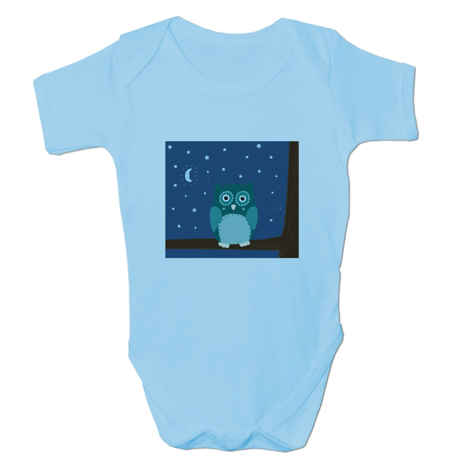 Baby Grow Clothes Novelty Gifts For Babies Boys Night Owl Ebay