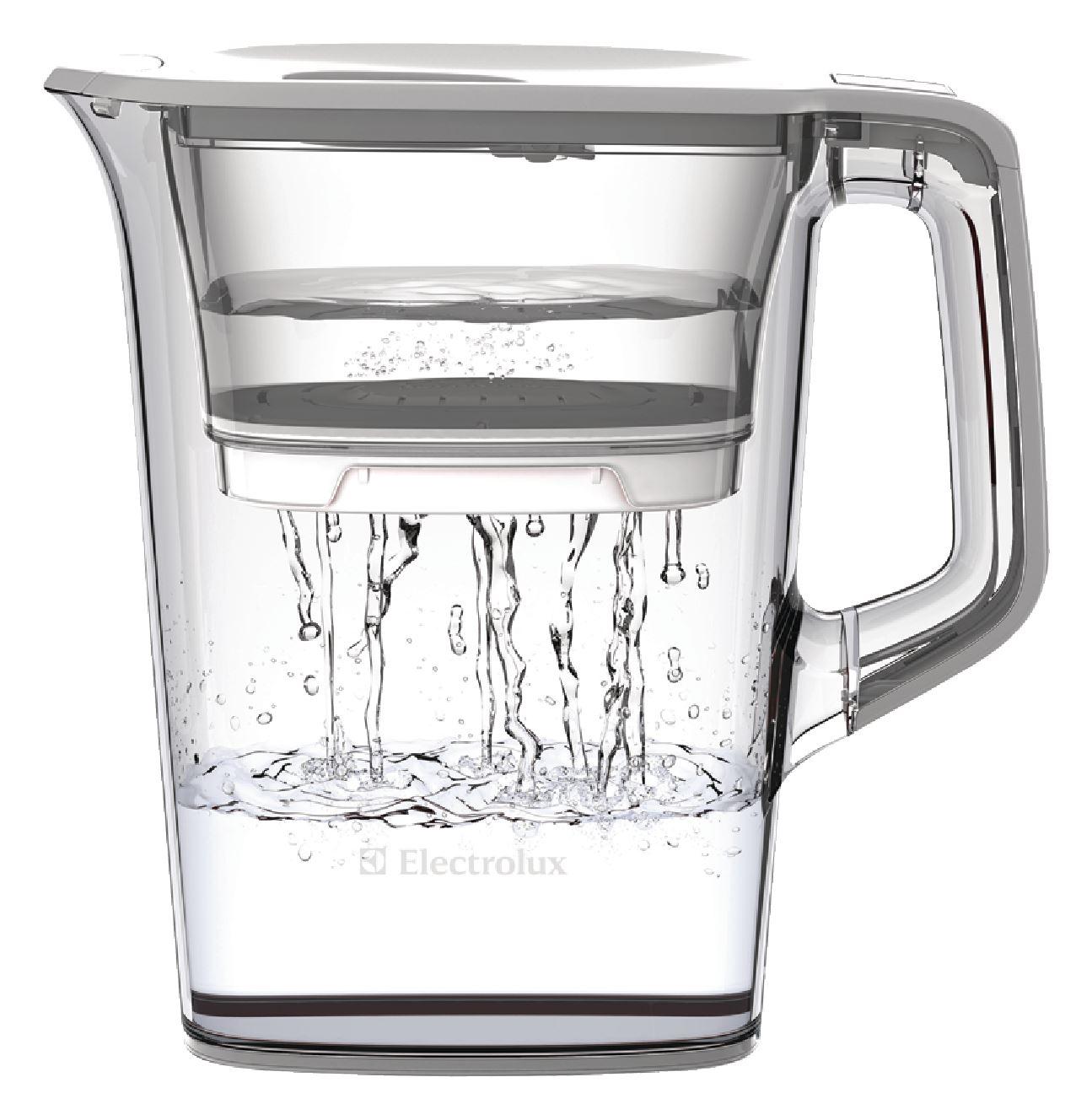 Electrolux Aquasense Water Filter Jug 1 6l Ice White Ebay