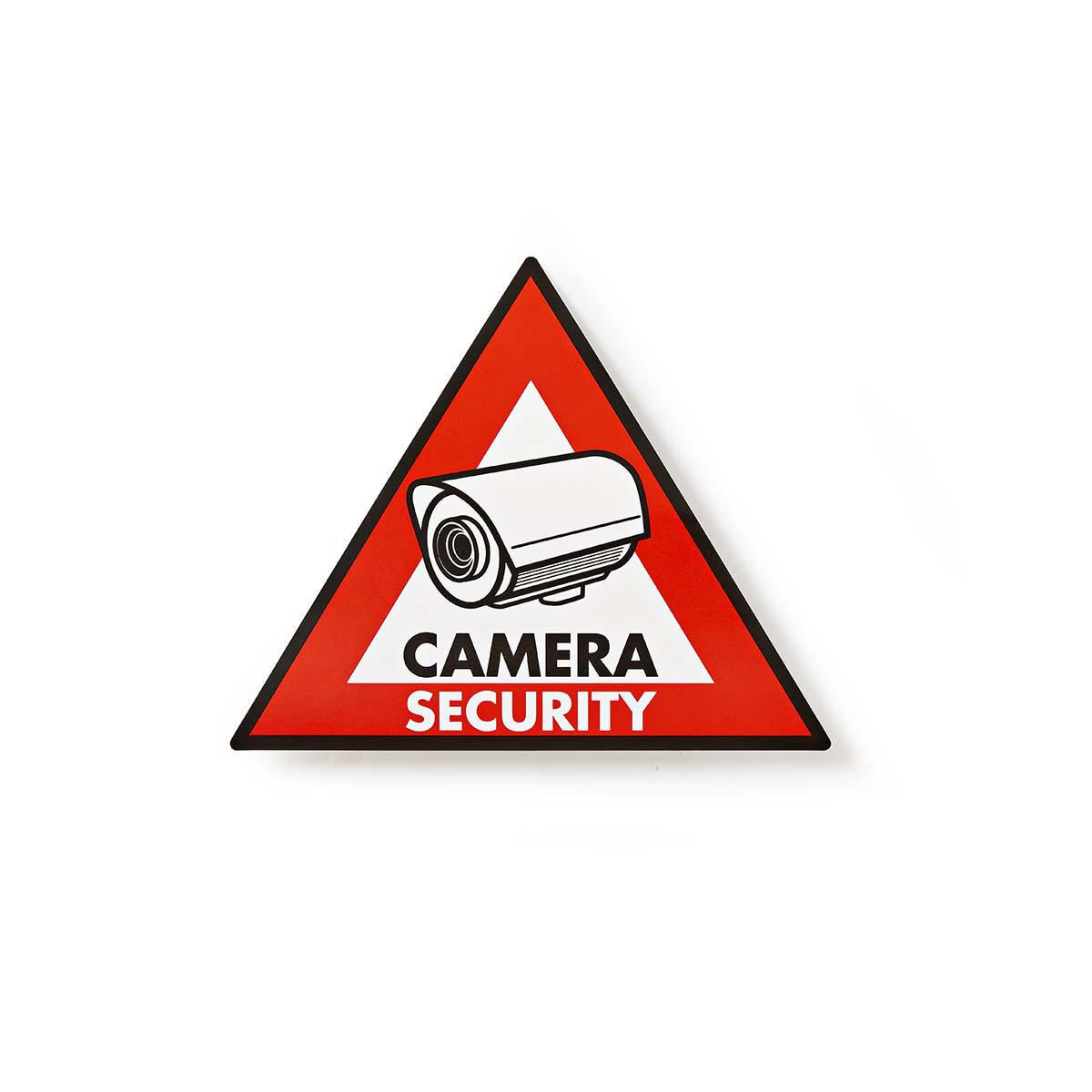 Details About Nedis Warning Sticker Camera Security Symbol Set Of 5 Pieces Stckwc105