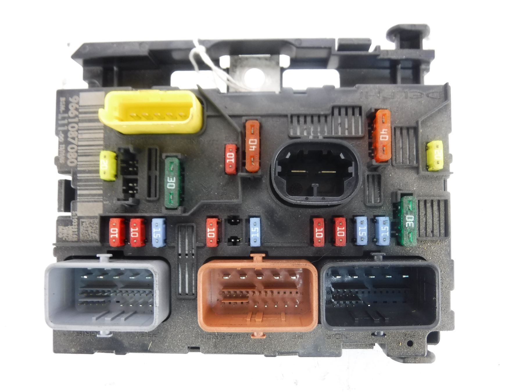 Peugeot 307 2000 2008 Fuse Box Bsm L11 9661087080 Ebay Wiring 2007 Image Is Loading