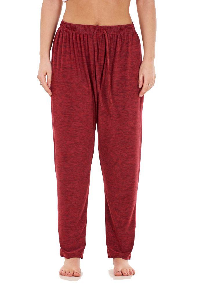 Ladies-Women-Trouser-Elasticated-Tapered-High-waist-ITY-Regular-Pants-Black thumbnail 39