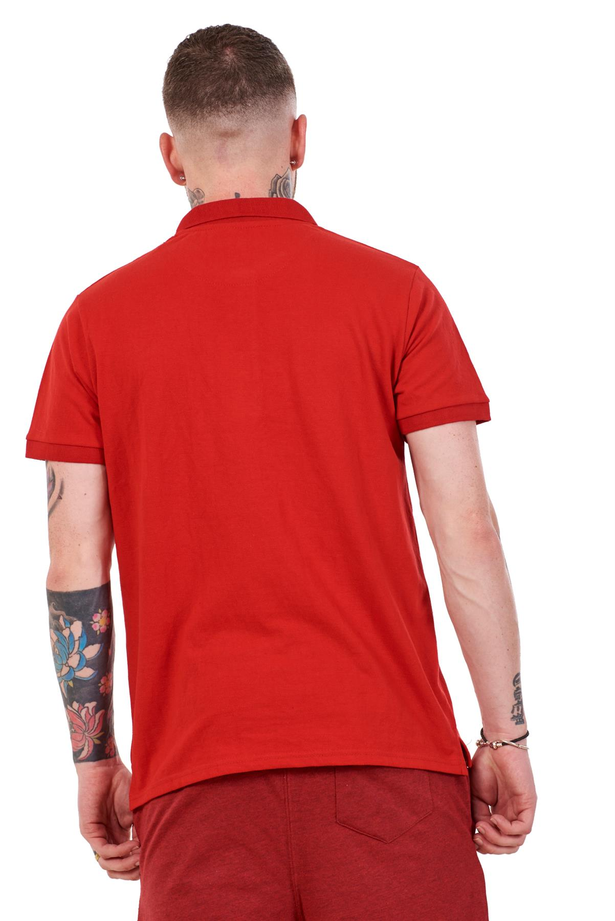 Mens-Plain-Solid-Polo-Cotton-T-Shirts-Regular-fit-Casual-Formal-Shirt-Top-M-XXL thumbnail 28