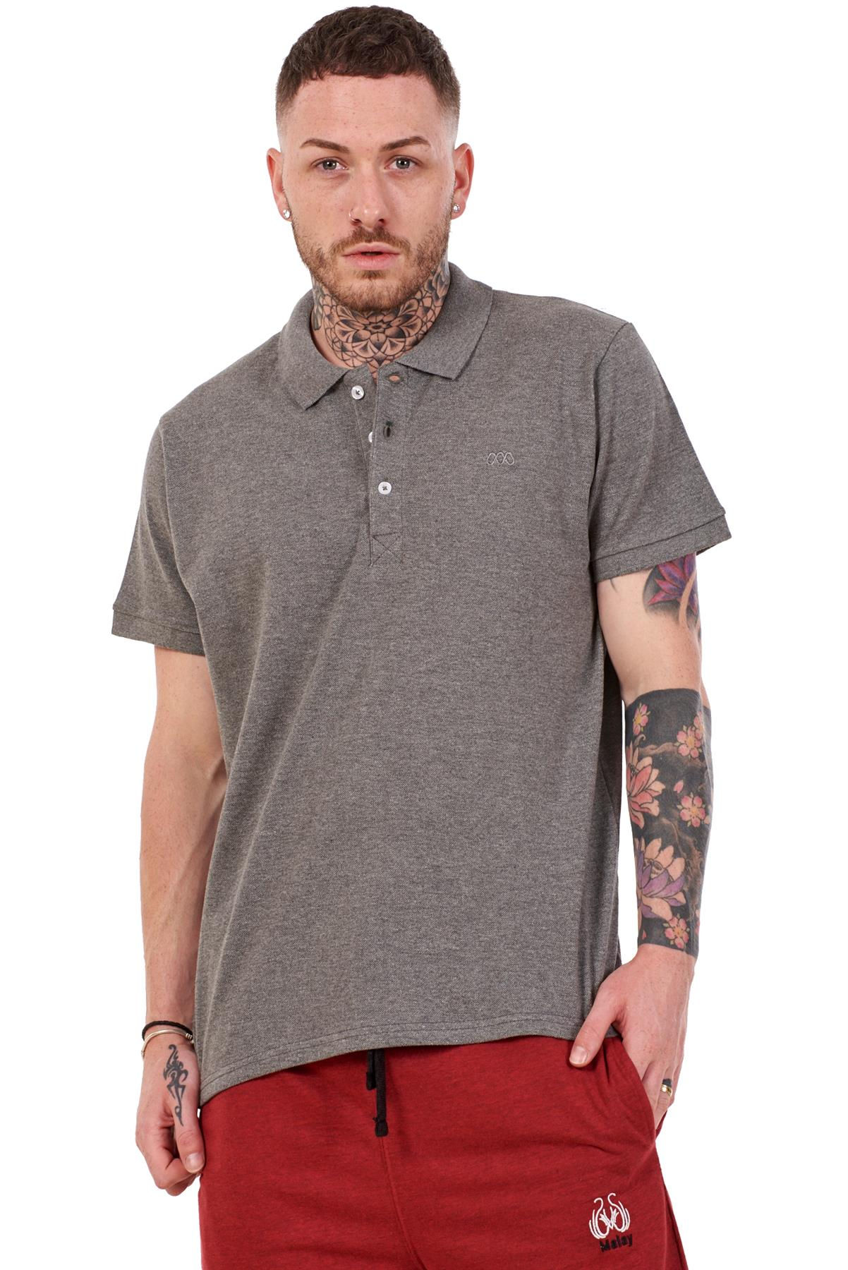 Mens-Plain-Solid-Polo-Cotton-T-Shirts-Regular-fit-Casual-Formal-Shirt-Top-M-XXL thumbnail 13