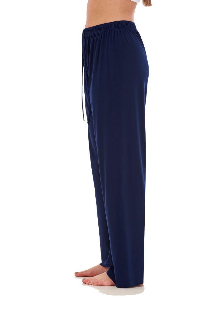 Ladies-Women-Trouser-Elasticated-Tapered-High-waist-ITY-Regular-Pants-Black thumbnail 20
