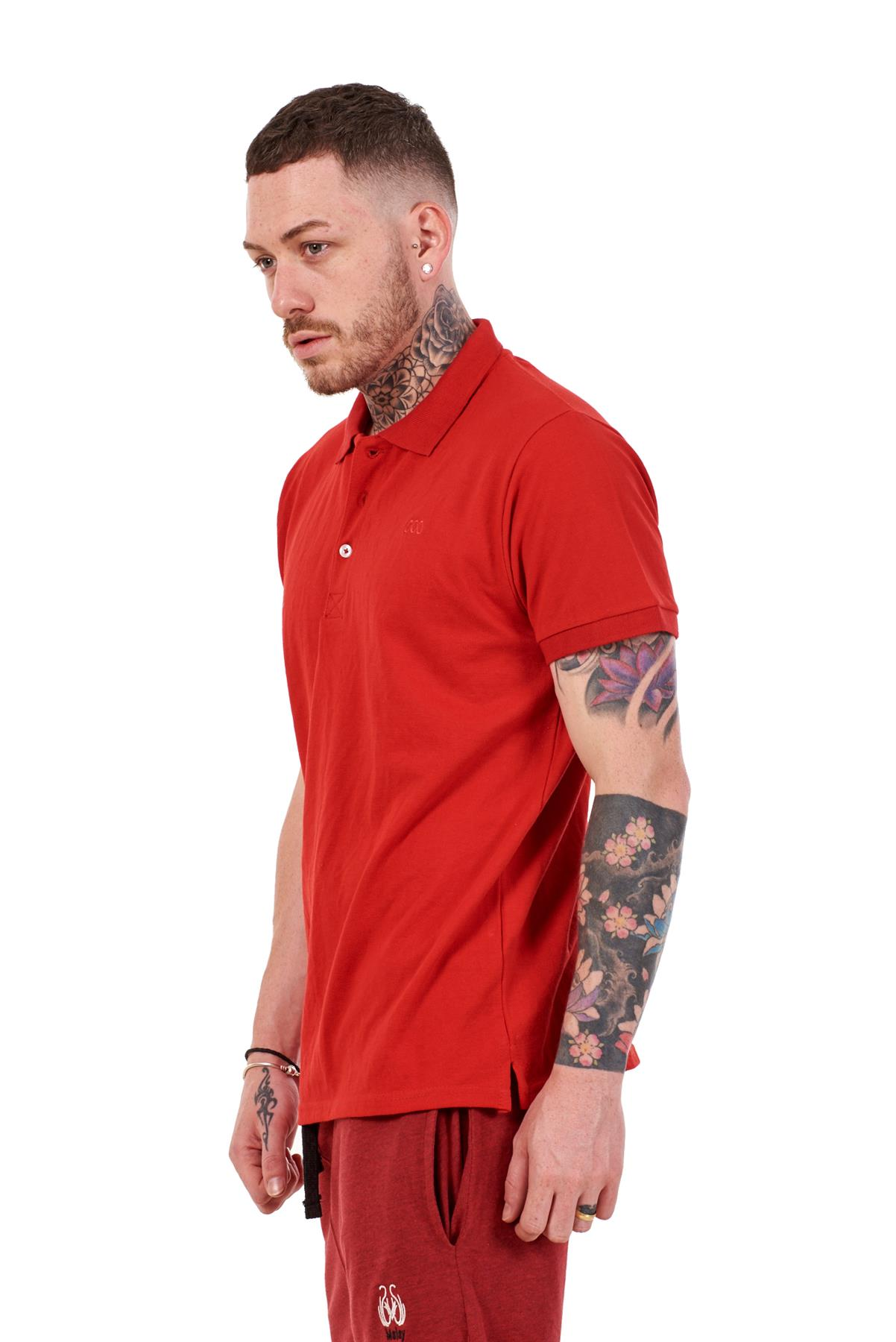 Mens-Plain-Solid-Polo-Cotton-T-Shirts-Regular-fit-Casual-Formal-Shirt-Top-M-XXL thumbnail 30