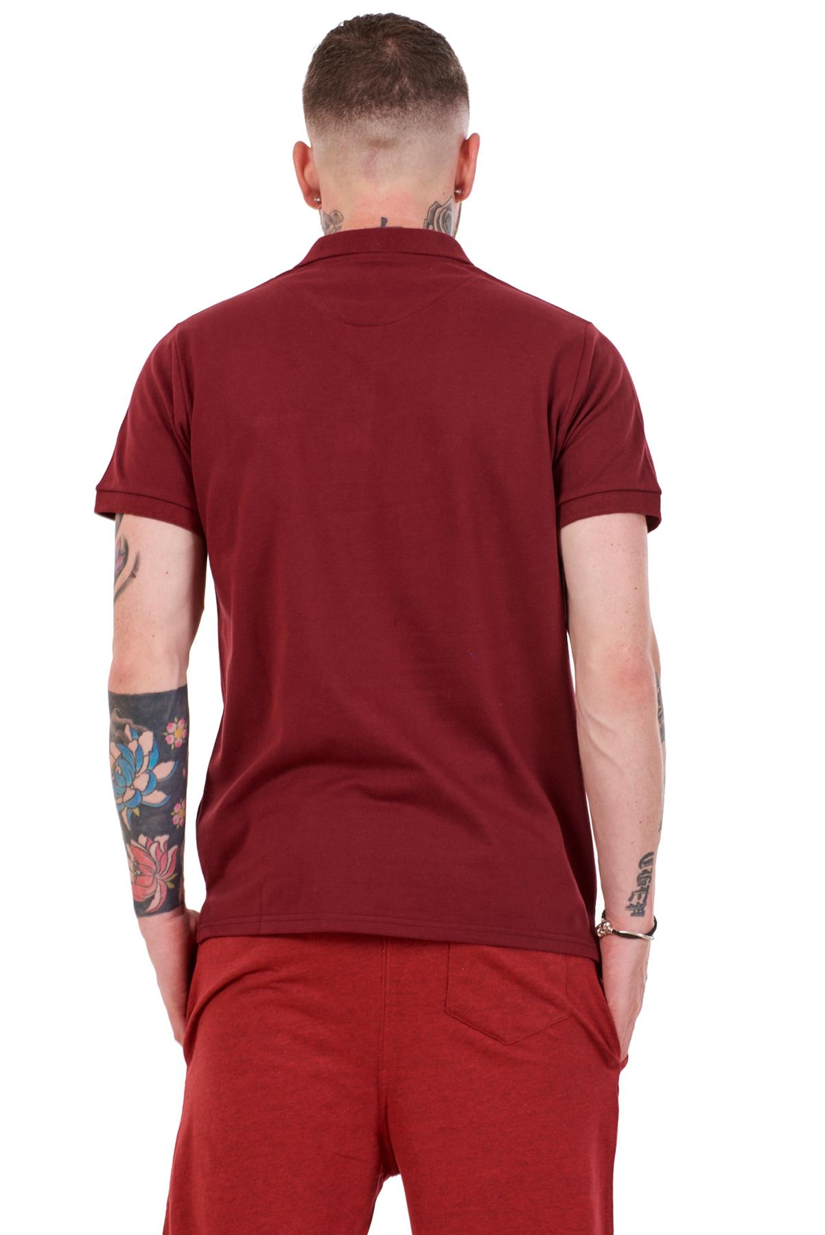 Mens-Plain-Solid-Polo-Cotton-T-Shirts-Regular-fit-Casual-Formal-Shirt-Top-M-XXL thumbnail 9