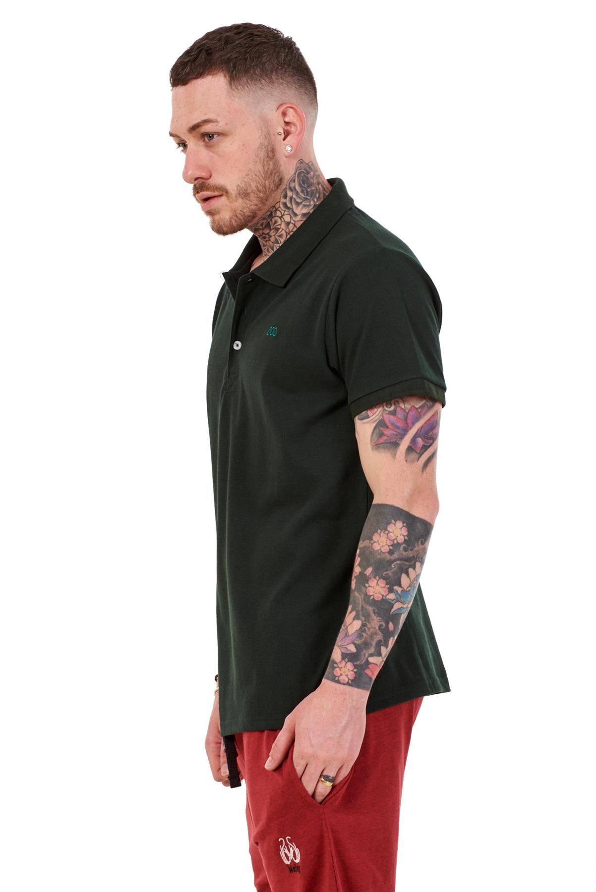 Mens-Plain-Solid-Polo-Cotton-T-Shirts-Regular-fit-Casual-Formal-Shirt-Top-M-XXL thumbnail 21