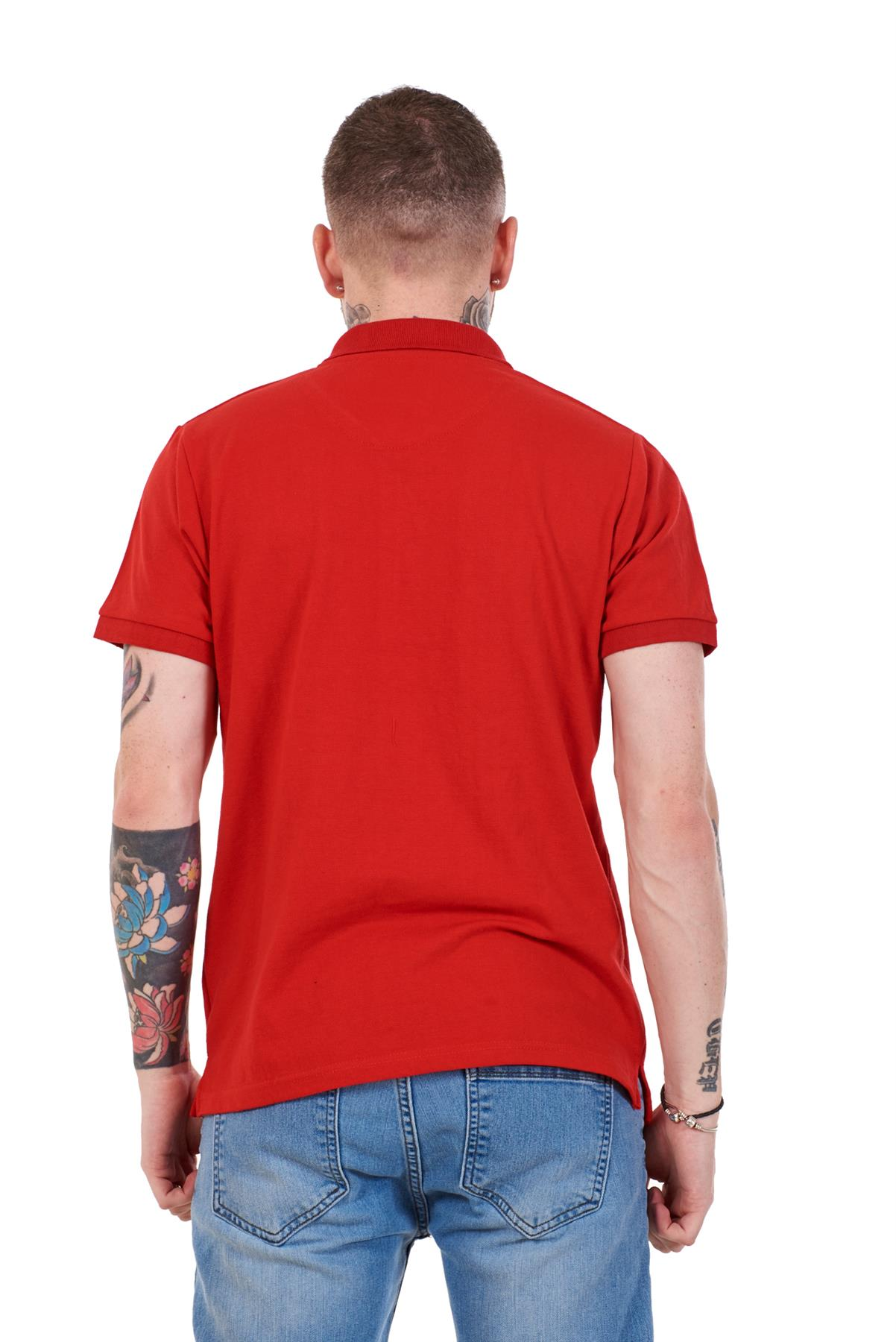 Mens-Cotton-T-Shirts-Regular-fit-Plain-Polo-Pocket-Casual-Formal-Shirt-Top-M-XXL thumbnail 26