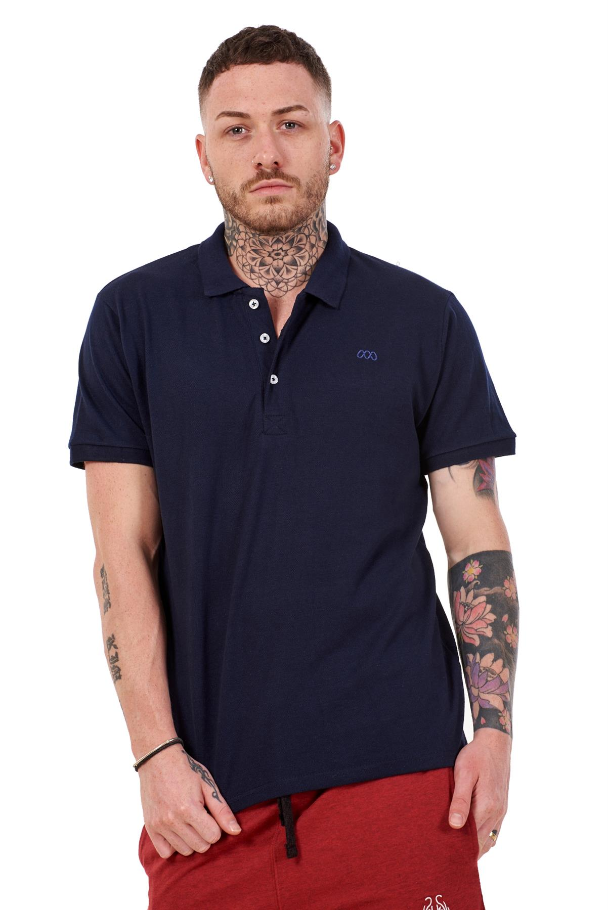 Mens-Plain-Solid-Polo-Cotton-T-Shirts-Regular-fit-Casual-Formal-Shirt-Top-M-XXL thumbnail 23