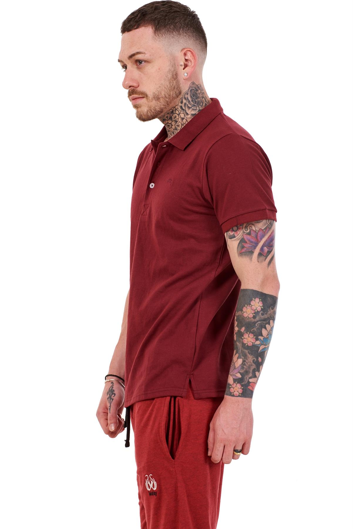 Mens-Plain-Solid-Polo-Cotton-T-Shirts-Regular-fit-Casual-Formal-Shirt-Top-M-XXL thumbnail 11