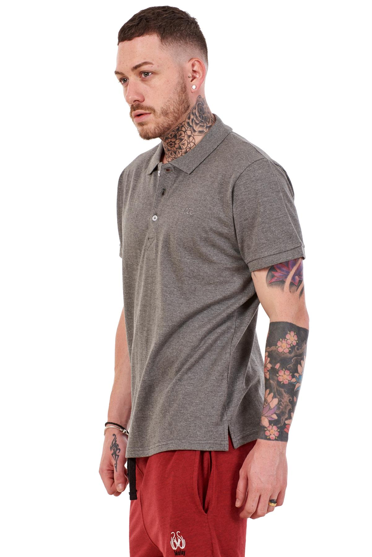 Mens-Plain-Solid-Polo-Cotton-T-Shirts-Regular-fit-Casual-Formal-Shirt-Top-M-XXL thumbnail 14
