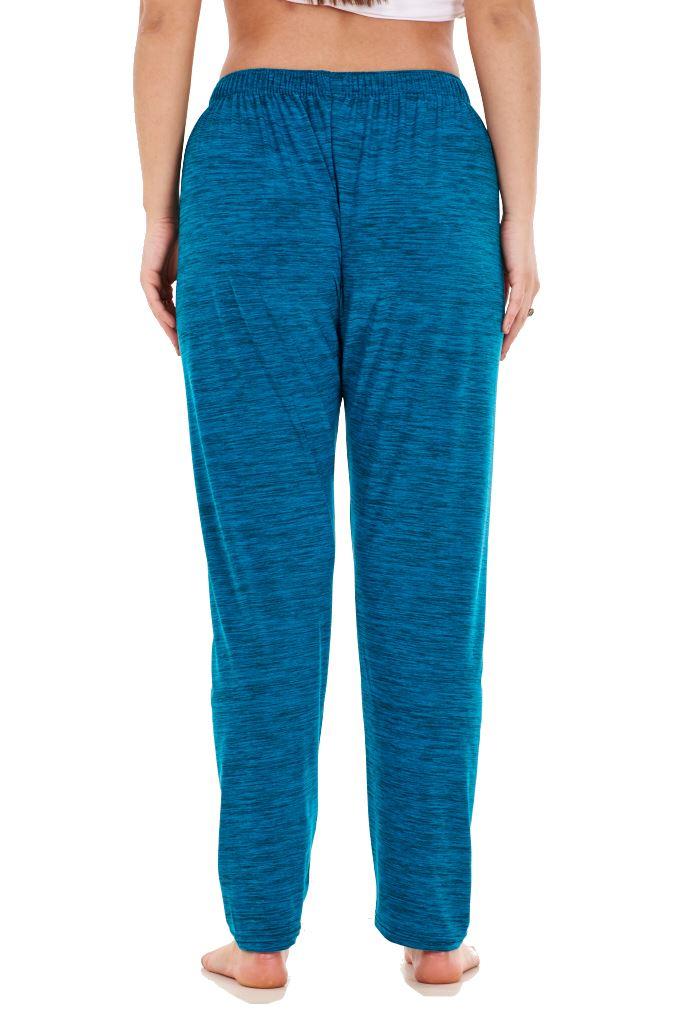 Ladies-Women-Trouser-Elasticated-Tapered-High-waist-ITY-Regular-Pants-Black thumbnail 37