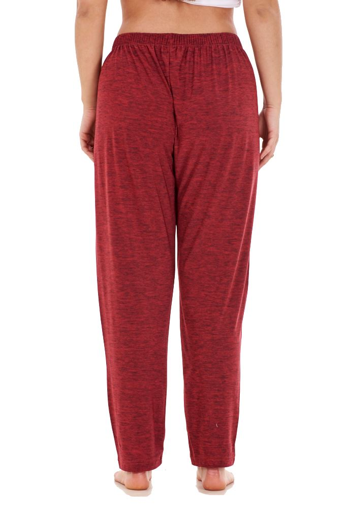 Ladies-Women-Trouser-Elasticated-Tapered-High-waist-ITY-Regular-Pants-Black thumbnail 41