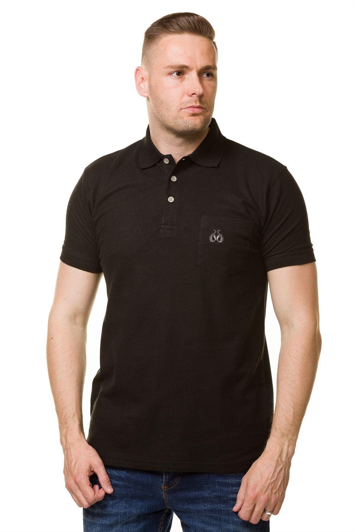 men�s tshirts cotton regular fit branded plain polo