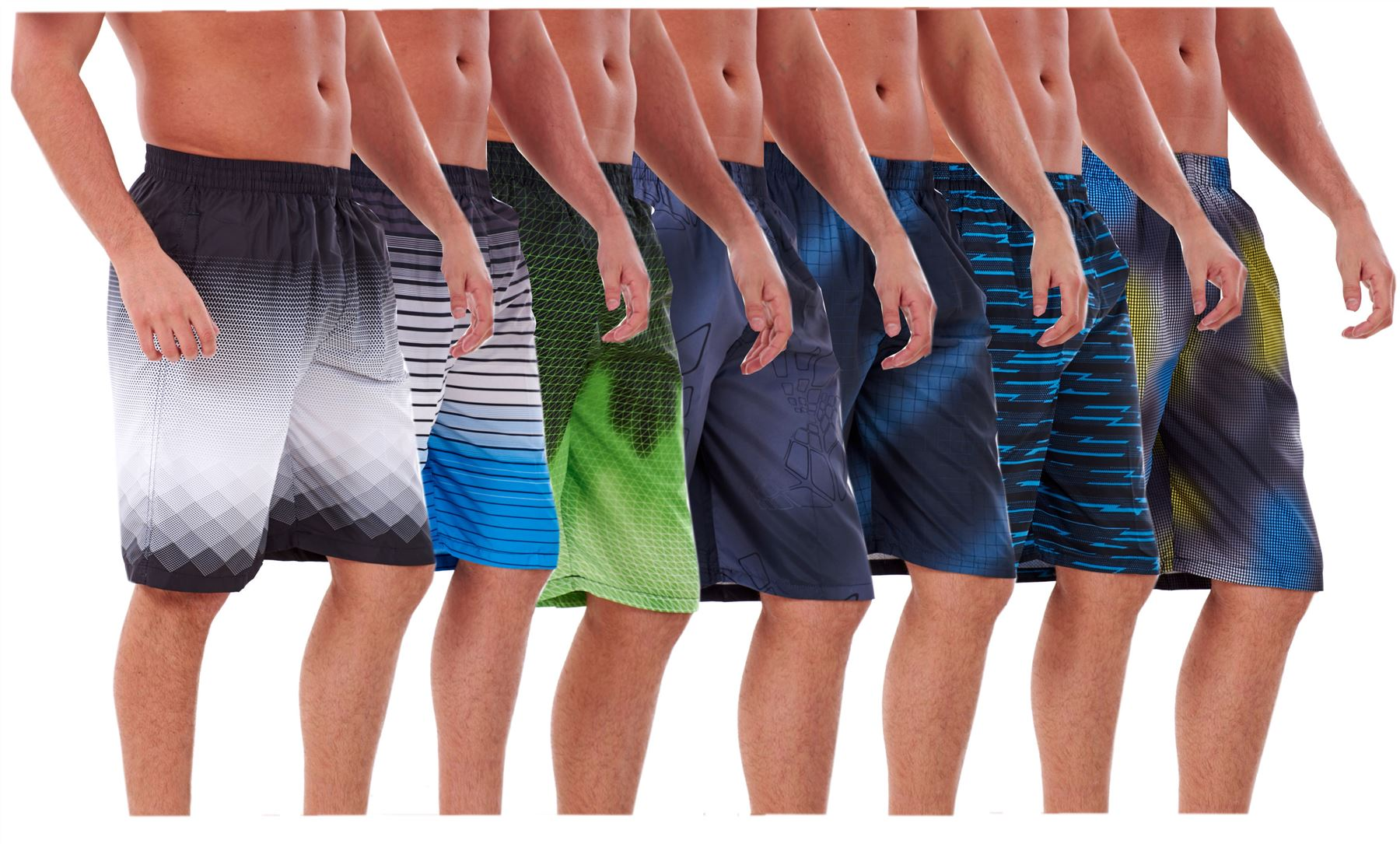 Polyester Black Lives Matter Swimsuit with Pockets Mens Quick Dry Beach Shorts