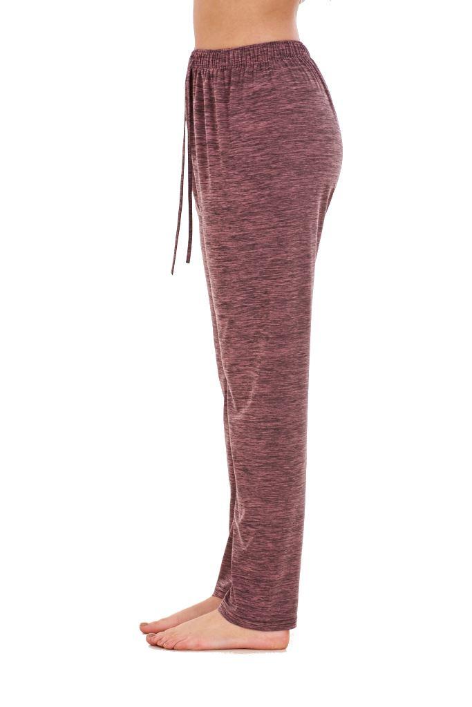 Ladies-Women-Trouser-Elasticated-Tapered-High-waist-ITY-Regular-Pants-Black thumbnail 24