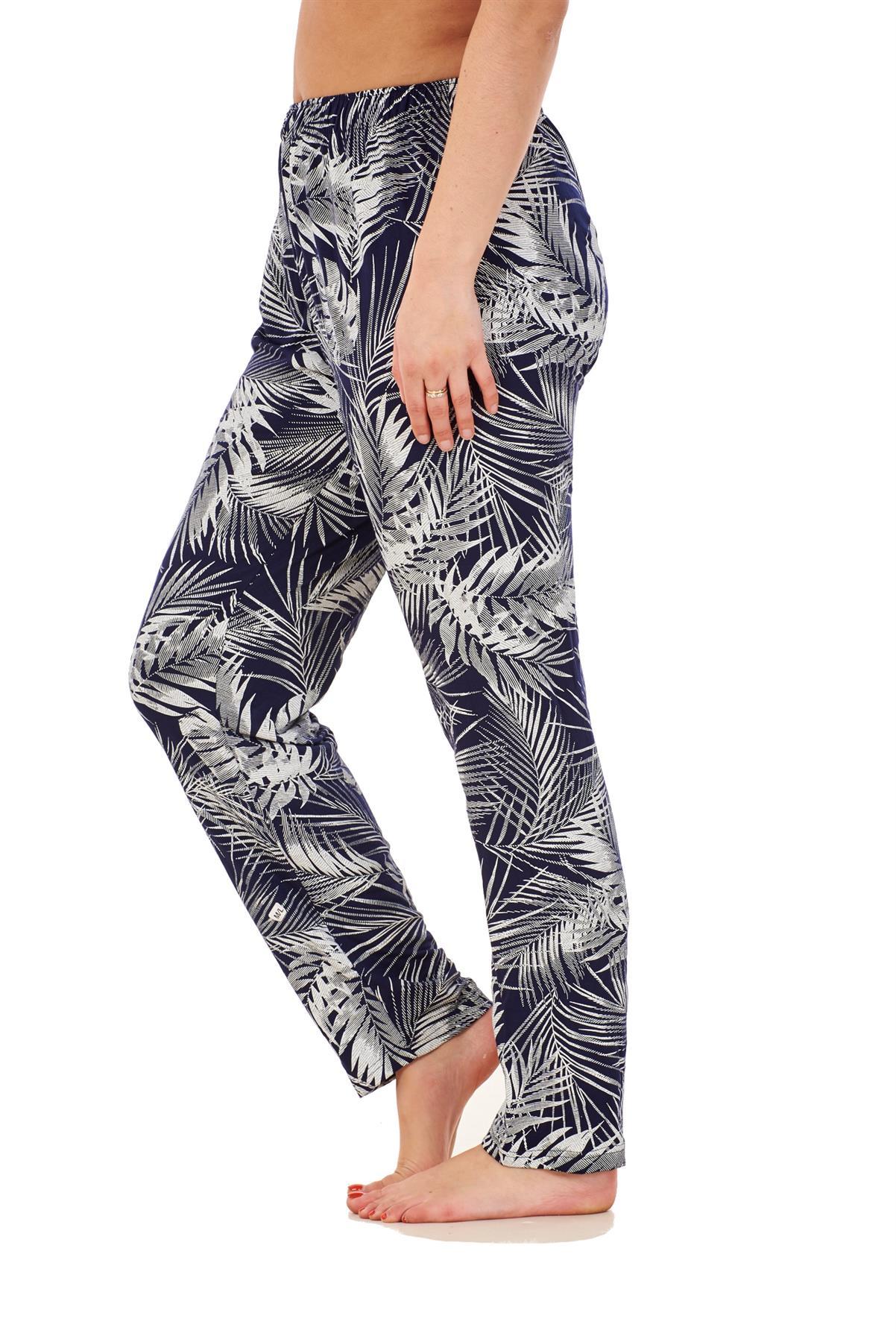Ladies-Women-Trouser-Elasticated-Printed-Tapered-Harem-High-waist-Regular-Pants thumbnail 27